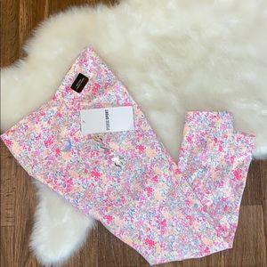 🌸Pink floral legging